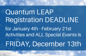 Quantum LEAP Registration